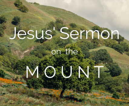 cover image of Galilean hill country for sermon on the mount series